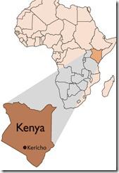 kericho map